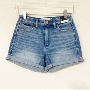 NWT Abercrombie & Fitch High Rise Denim Shorts